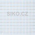 Premium Mosaic Mozaika Super biela 2,5x2,5 cm - MOS25WH