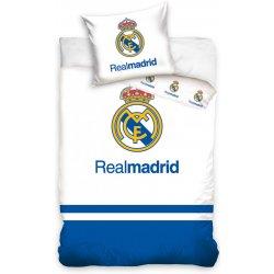 c7a6962dff0ab Carbotex obliečky Real Madrid blue 40x60 cm 100x135 cm od 15,77 ...