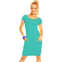 Lental dámske šaty Tatiana 1-4 turquoise alternatívy - Heureka.sk 30eb1958ad0