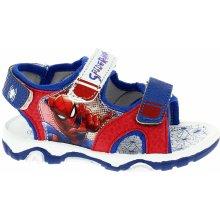8e244b90aef0b Disney by Arnetta Chlapčenské sandále Spiderman červeno-modré