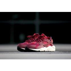 ffa4aee0d3ee Nike Wmns Air Huarache Run Print Deep Garnet  Bright Crimson ...