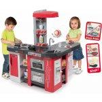 Smoby Elektronická kuchynka Tefal Studio XXL 311014 červeno-strieborná 35 doplnkov