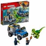 LEGO Jurassic World 10757 Raptor a záchranárske vozidlo