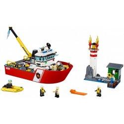 LEGO CITY 60109 Hasičský čln