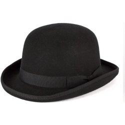 9a47b11d1 Čierna burinka pánsky klobúk 100% vlna alternatívy - Heureka.sk