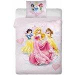 Jerry Fabrics obliečky Princezné Elegance bavlna 140x/200 70x90