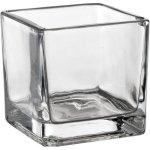 Sandra Rich Amuse-Bouche pohár, pohárik, sklenička váza kocka 5,5cm - Sandra Rich