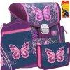 f744b851b80 Školský batoh Belmil 403-13 Purple Flying Butterfly - SET + doprava a  potreby Koh