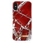 Púzdro iDeal Fashion Case iPhone X Scarlet Red Marble