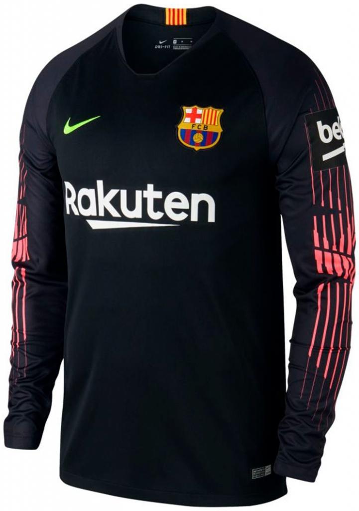 Nike FC Barcelona brankársky dres pánsky 2018 2019 domáci + vl. meno a číslo 88a1279fd20