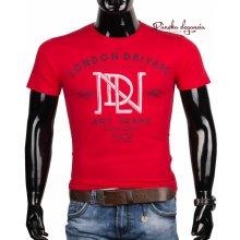 10972-8 Červené bavlnené tričko