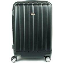 Airtex 938 kvalitný cestovný kufor malý 36x23x55 cm Černá