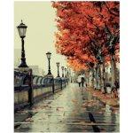 Maľovanie podľa čísel Jesenná prechádzka