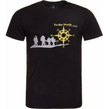 Kilpi NORTH pánske krátke tričko čierna