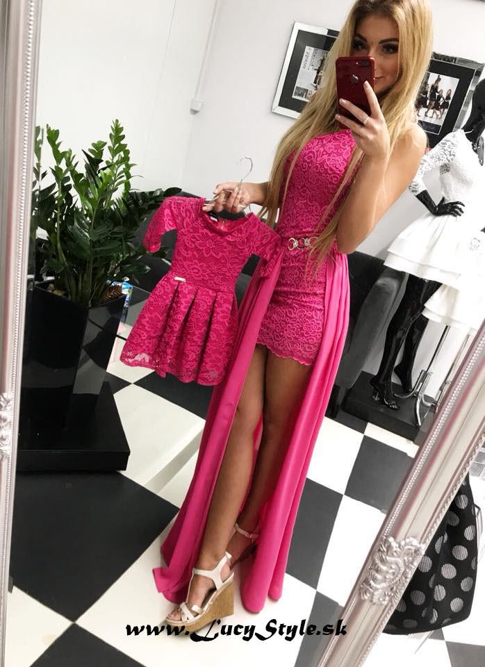 a1085b2de5ed Dámske šaty Krásne ružové spoločenské šaty - Zoznamtovaru.sk