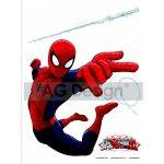 AG Design AGFD1710 Maxi nálepka na stenu Spiderman 85x65 cm