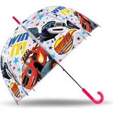 EUROSWAN Priehľadný dáždnik Blaze POE, priemer 70 cm