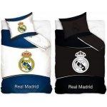 CARBOTEX Obliečky Real Madrid znak svietiaci bavlna 140x200 70x80