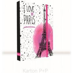 9c35f44fc0 Box na zošity A4 Jumbo Romantic Nature Paris od 4