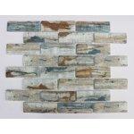 Premium Mosaic Mozaika sklo brick blue 26x303,1x9,8 MOSV98BBL