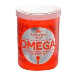 Kallos KJMN vyživujúca maska (Omega Rich Repair Hair Mask with Omega-6 Complex and Macadamia Oi) 1000 ml
