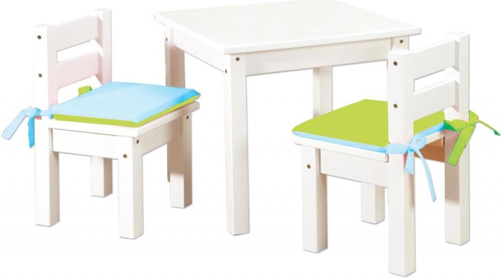 e4d9cccc64b9 Detské stoly a stoličky HoppeK detský stolík so stoličkami z masívu ...