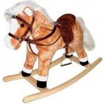 Teddies Plyšový hojdací kôň 60cm
