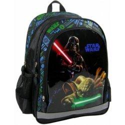 0e897e7e333 DERFORM batoh Star Wars ergonomický Darth Vader vs. Yoda 38cm od 22 ...