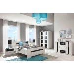 206fb4afdb91 MALYS-GROUP Moderná a biela spálňa PRESTO zostava 1