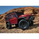 Traxxas TRX-4 Land Rover Defender TQi RTR červená 1:10