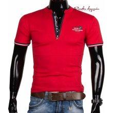 10971-3 Červené pánske tričko