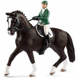 732ce71a9 Schleich 42358 set jazdkyňa na koni na parkúrové jazdenie od 12,85 € -  Heureka.sk