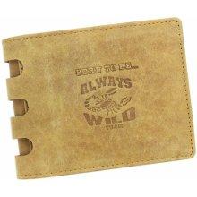ef0276aa3 Wild Pánska peňaženka 001 H BTB