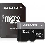 ADATA microSDHC karta 32GB, CL10 UHS-I AUSDH32GUICL10-RA1