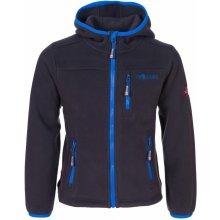 Trollkids detská fleecová bunda Stavanger sivo-modrá