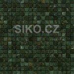 Premium Mosaic Stone Mozaika zelená 1,5x1,5 cm - STMOS15GRW