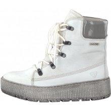 392bfc70c3f8 Tamaris elegant nej dámske členkové topánky white comb