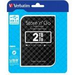 "Verbatim Store 'n' Go 2TB, 2.5"", USB 3.0, 53195"