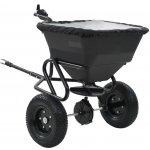 VidaXL Prívesný posypový vozík na soľ, PVC a oceľ, 125x74x79 cm, 45 l