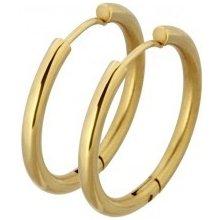 Tribal náušnice gold ESS503G 20 b6c18560fb6