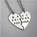Prívesok pre dvoch, puzzle priateľstvo Best Friend F017