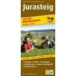 PublicPress Leporello Wanderkarte Jurasteig