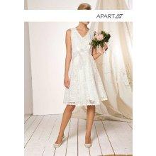 Svadobné šaty APART smotanová