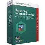 Kaspersky Internet Security multi-device 3 lic. 12 mes.