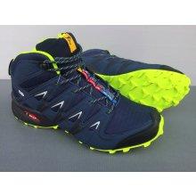Pánska trailová obuv 2920M9 Zelená / Navy