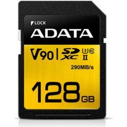 ADATA SDXC 128GB UHS-II U3 ASDX128GUII3CL10-C