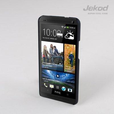 Púzdro JEKOD Super Cool HTC ONE/M7 čierne