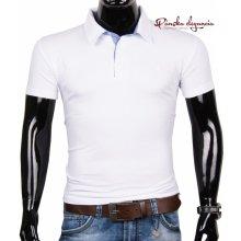 11074-13 Biele tričko zo 100% bavlny McMANAMAN