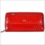 Dámska kožená peňaženka 3020 červená