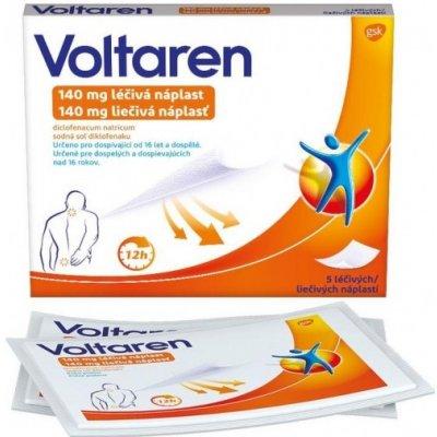 Voltaren 140 mg liečivá náplasť emp.med.5 x 140 mg